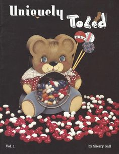 Uniquely Toled Vol 1 by Sherry Gall Tole Painting Book FI177 by PhotographyByRoger on Etsy
