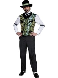 Mens Wild West Cowboys Indians Fancy Dress Costume | eBay