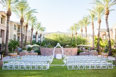 Ceremony set-up from a June wedding! Great photos by Robert Godridge Photography!