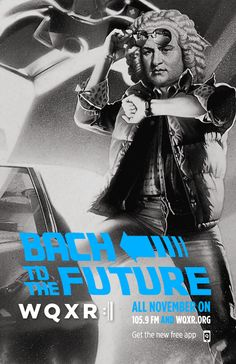 Bach to the Future. #Bachstock #McFly #Bach #WQXR #Bachpun