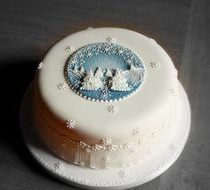 Christmas cake n. 1 by semalo63, via Flickr