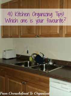 From Overwhelmed to Organized: Kitchen Organizing Tips: Tying it all Together!