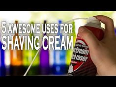 5 awesome uses for shaving cream