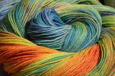 Olann:  sock-yarn hand-dyed