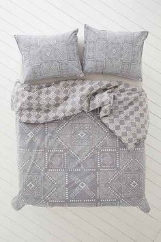 4040 Locust Eckhart Stonewash Duvet Cover - Urban Outfitters