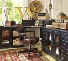 pottery barn office ideas. build your own printeru0027s modular cabinets pottery barn office ideas