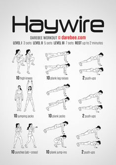 Haywire Workout | Full Body | Difficulty 3/5