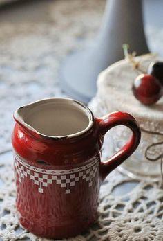 pottery pitcher...
