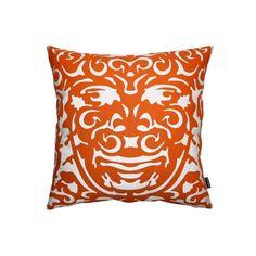 Shared orange pillow list on Rately