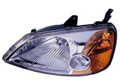 2003 honda civic si hatchback headlights