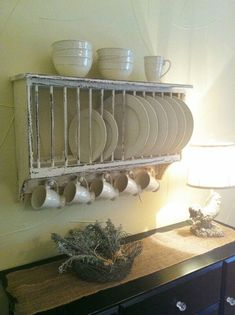 I think it's becoming almost imperative that I acquire a plate rack