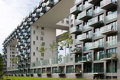 "thomas mayer archive: NLD, The Netherlands, Amsterdam, ""Parkrand Buildnig"", architecture by MVRDV Amsterdam Apartment, Netherlands, Multi Story Building, Apartments, Archive, Concept, Building Ideas, Projects, Homes"