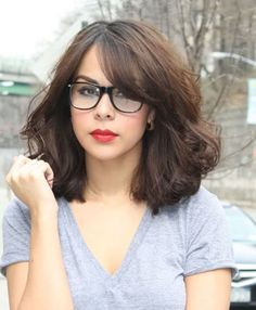 Top 15 Bangs and glasses, the perfect combination » New & Old ...