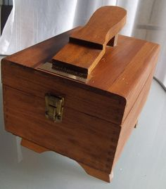 Vintage Shoe Shine Box For Grandpa