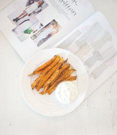 Sweet potato fries dip + - Eirin Kristiansen