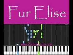 How to play Fur Elise at 50% speed (Piano)