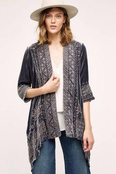 Savannah Velvet Kimono by Johnny Was