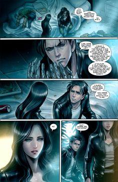 Laura/X -23, Gambit Wolverine and Jubilee shopping ... X 23 Gambit