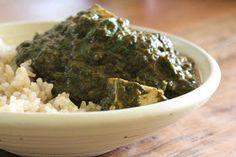 """Healthy Girl's Kitchen: Crock Pot Saag (Spinach) """"Paneer"""" and HGK's Top Ten List?"""