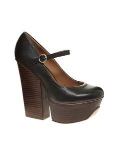 Shellys London Kocek Platform Mary Jane Shoes