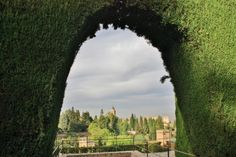 Foto: Jardines bajos del Generalife, tomada en Granada