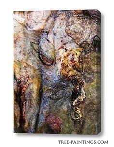 """""""Seahorse"""" canvas"""