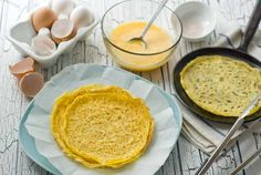 Gluten Free Egg Crepes Recipe