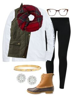 """#EAchristmascontest2k15 #1"" by madelyn-abigail ❤ liked on Polyvore featuring NIKE, Vineyard Vines, Fevrie, L.L.Bean, Prism, Kate Spade, women's clothing, women's fashion, women and female"