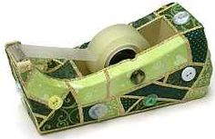 Quilted Tape Dispenser ~yeah, I'm doing this!