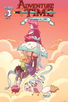 Allegri, Sterling, Hernandez And Boeh Cover 'Adventure Time With Fionna And Cake' #3 [Preview] - ComicsAlliance | Comic book culture, news, humor, commentary, and reviews