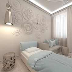 Дизайн интерьера детской комнаты в светлых тонах