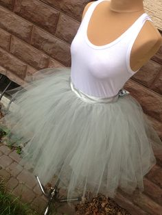 spódnica tiulowa - tulle skirt
