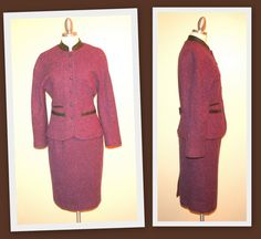 Daniel Hechter Paris Vintage 80's Maroon and by InspirationVintage, $75.00
