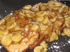 Bananas. Foster. French. Toast.   OMG, it sounds so yummy!