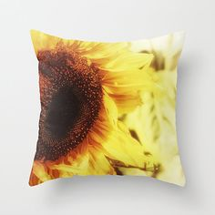 Dreamy Photography Sunflower Decor Yellow Sunflower Floral Print Nature Inspired Home Decor Off Dreamy Photography, Fine Art Photography, Office Wall Art, Office Decor, Colorful Pillows, Subtle Textures, Saturated Color, Inspired Homes, Wood Print