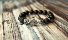 Natural Stone Druzy Stacking Bracelet by Phenomenal Women