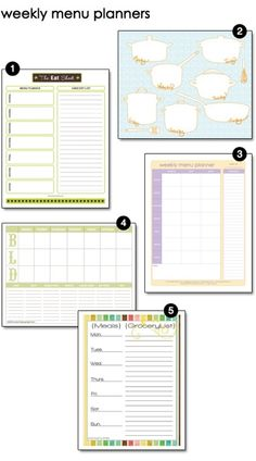 144 best childminding documents planning learning journals ect free printables and family organizers tidy tangle unique weekly dinner templates printable menu maxwellsz