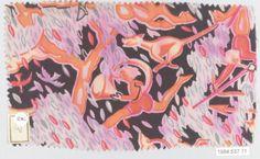 Dagobert Peche (Austrian, St. Michael im Lungau 1887–1923 Mödling bei Wein) Manufacturer: Wiener Werkstätte Date: ca. 1920 Classification: Textiles-Printed Credit Line: Gift of Joanne F. du Pont and John F. Pleasants, in memory of Enos Rogers Pleasants, III, 1984 Accession Number: 1984.537.71