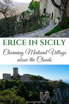 Erice in Sicily: Charming Medieval Village Above the Clouds Verona Italy, Puglia Italy, Sicily Italy, Venice Italy, Italy Vacation, Vacation Spots, Italy Trip, Places To Travel, Places To See