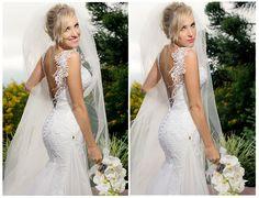 Noiva | Bride | Vestido | Dress | Vestido de noiva | Wedding dress | Bride's dress | Inesquecivel Casamento | Renda | Rendado | Vestido rendado | Véu | Véu de noiva | Grinalda | White dress | Vestido bordado | Bordado | Decote | Vestido branco | Vestido decotado
