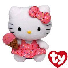 #HelloKitty Ice Cream Beanie Baby!