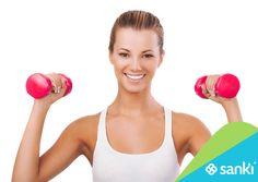 El #entrenamiento con #pesas es un aliado para el sistema cardiovascular, ya que no solamente ayuda a que nuestros músculos se fortalezcan, incluido el corazón, sino que también ayuda a reducir el colesterol en la sangre. #Ftiness #SankiFit