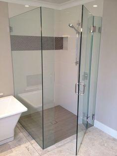 Recessed Shower Cavity