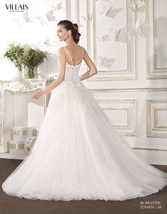 SOANATA | Wedding Dress | 2015 Romantic Collection | by Sara Villaverde | Villais (back)