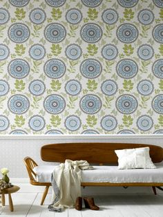 Vintage Wallpaper Ideas | Interior Design Styles and Color Schemes for Home Decorating | HGTV