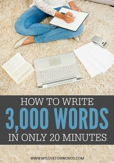 This is the ultimate writing hack! If you're working on a blog, ebook, or the next great piece of classic literature, this trick is sure to help you get your thoughts on the page and write faster than ever before. You'll be able to achieve what would normally take you hours to complete i n just minutes. It's a game changer!