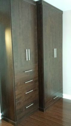 Chocolate Wardrobe Cabinet