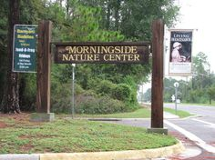 Morningside Nature Center is part of the City of Gainesville's Nature Operations Division. Located at 3540 East University Avenue the Center is a 10 minute drive from downtown Gainesville. Admission is free and the property includes an educational center, 5 miles of walking trails, and some great interpretive displays like the ones pictured here.
