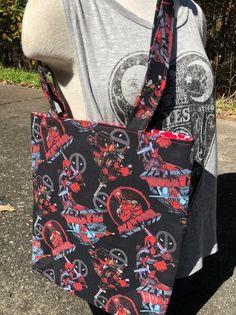 Deadpool Tote Bag: Comic Books.