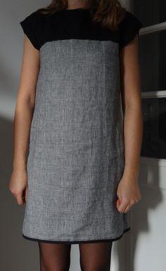 Aurélie kronikken 23 Deklarasjon av kjoler for å starte i nakken Diy Clothing, Sewing Clothes, Clothing Patterns, Dress Patterns, Coin Couture, Couture Sewing, Dress Up Wardrobe, Diy Dress, Simple Dresses